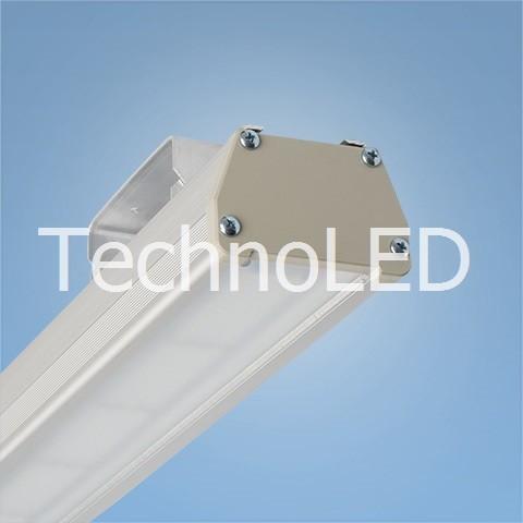 Cветодиодный линейный светильник Direct 120 Вт